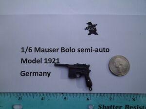 F8    1/6 WWII Homemade Mauser Bolo semi-auto Model 1921 Germany