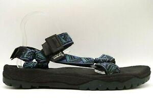 Teva Logo Multi-Colored Adjustable Fit Slip On Outdoor Sandals Shoes Men's 11