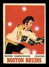 1970-71 O-Pee-Chee #136 Derek Sanderson  VGEX X1178350