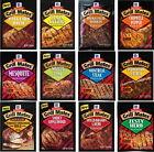 McCormick Grill Mates Marinade Powder Rub Packets Flavors