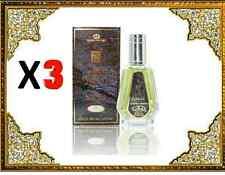 3 Pack Dakar 35ml Oriental Perfume with Fresh Notes Wood Musk by Al Rehab