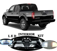 LED Package - Interior + License + Vanity + Reverse for Nissan Frontier (9 Pcs)