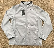 Nike Golf Boys Shield Jacket Water Resistant Gray Youth Size L Large 845295