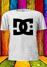 DC T Shirt Tee Skate Sports Casual T-shirt Vest Tank Top Men Women Unisex 2137