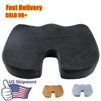 Car Chair Orthopedic Office Seat Cushion Pillow Tailbone Sciatica Pain Relief