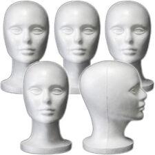 Less Than Perfect Mn 408 Ltp 5 Pcs Female Styrofoam Mannequin Head