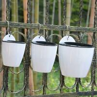 Self-watering Plant Flower Pot Wall Hanging Planter House Garden For Home