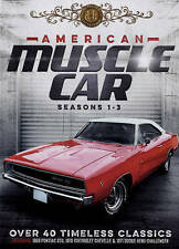 Brand New American Muscle Cars: Seasons 1-3 (DVD, 2015, 6-Disc Set)