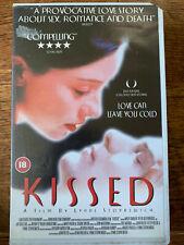 Kissed VHS 1996 Mortician Necrophilia Drama Cult Film Movie Big Box Rental Tape