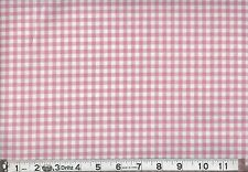 "1 BOLT 45"" SWEET MEADOW GINGHAM PINK FABRIC 8 YARDS"