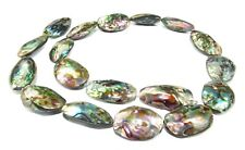 Abalone Beads Small Whole Bowls Approx. 30-35 mm Mother of Pearl Shell Beads