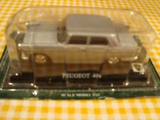 MODELLINO AUTO PEUGEOT 404 SCALA 1:43 CAR MODEL IN METALLO