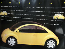 VW VOLKSWAGEN NEW BEETLE Detroit 1993 MAGGIOLINO Concept 1 poster immagine Picture RAR!