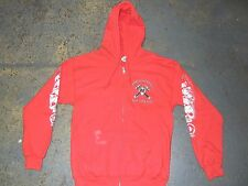 Support Local 81 Crossed Hammers HELLS ANGELS NYC New York Hood Sweatshirt LARGE