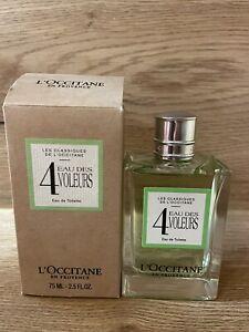 L'Occitane En Provence 4 Eau Des Voleurs Eau de Toilette 75ml OVP/New/Neu!
