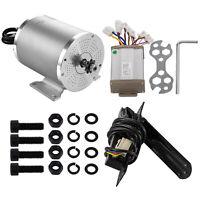 1800W 48V Electric Brushless DC Motor w/ Speed Controller +Throttle Pedal Kit