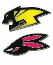 *NEW* Tiger & Bunny Wild Head Logo Pin Set of 2