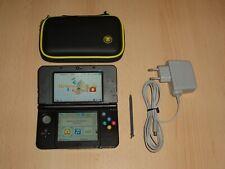 Nintendo New 3Ds Konsole  Handheld + Tasche + Ladegerät - Super Mario Design