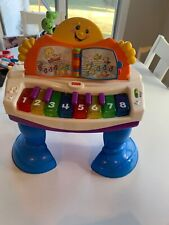 Fisher Price Laugh & Learn Interactive Learning Piano w Lights and Sounds