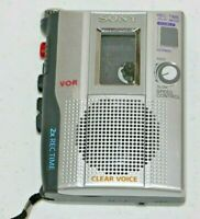 Vintage Sony TCM-200DV Handheld Portable Clear Voice Cassette Recorder Tested!