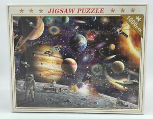 1000 pieces Jigsaw Puzzle Planets 70cm x 50cm - Aussie Outlet Online