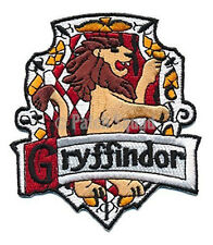 HARRY POTTER GRYFFINDOR EMBROIDERED 4 INCH IRON ON  PATCH