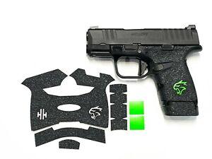 HANDLEITGRIPS LASER CUT TACTICAL GUN GRIP for Springfield Hellcat w/ mag grip