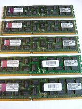5x 4GB Kingston KVR1333D3D4R9S/4GED 20GB DDR3 1333MHz PC3-10600R PC Server RAM