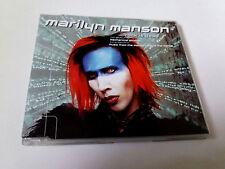 """MARILYN MANSON """"ROCK IS DEAD"""" CD SINGLE 3 TRACKS COMO NUEVO"""