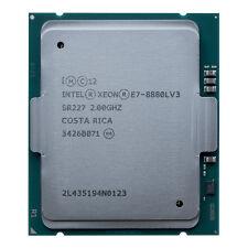 Intel Xeon E7-8880L v3 QS CPU 2.0GHz 18-Core 115W 45M Max 2.8GHz SR227 QGUU ES