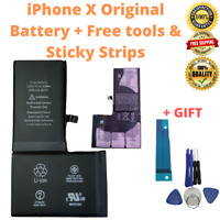 OEM Original iPhone X Replacement Battery 2716 mAh Internal Akku Tools Kit Stick