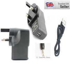 5V 1A UK Wall Charger With USB Cable for Kurio 10 Kids Tablet PC