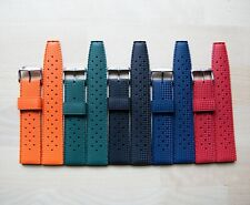 US STOCK Retro Tropic Style Fuerman Rubber Watch Diver Strap Buy 3 Get 1 Free