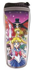 **License Cup** Sailor Moon SD Jupiter Tuxedo Mask Group Tumbler Mug #69542