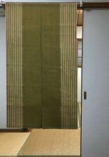 Noren Japanese Door Curtain Hanging tapestry Green Wa Wabisabi from japan