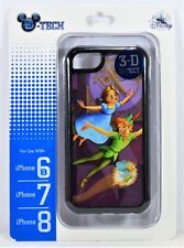 Disney Parks Exclusive Peter Pan Tinkerbell 3-D Effect Apple Iphone 6S/7/8 Case