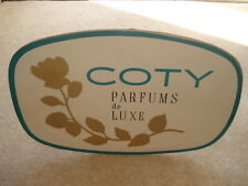 C1960S VINTAGE COTY PARFUMS DE LUXE ADVERTISING SHOWCARD