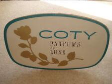C1960S VINTAGE COTY PARFUMS DE LUXE ADVERTISING SHOWCARD