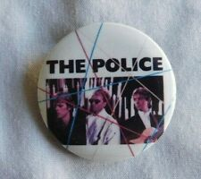 VINTAGE THE POLICE Hat Pin Pinback 1-1/4''