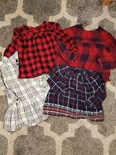Baby Girls Long Sleeve Blouse Bundle Size 12 -18 Months