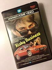 RISKY BUSINESS. VHS. BIG BOX. TOM CRUISE. WARNER HOME VIDEO.