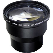 58MM 3.6X Telephoto Zoom Lens for Canon Rebel EOS  1000D 1100D 1200D 20D 40D T5