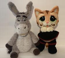 Shrek Interactive Talking Toys Donkey Yap & Nap and Sweet Talkin' Puss in Boots