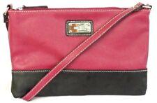 Nine West Designer Bags - Fold Crossbody Cranberry-Black