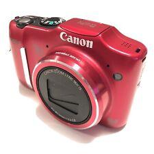 Canon PowerShot SX160 Digital Camera Tested Working