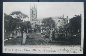 Yorkshire Postcard: St Martin's Parish Church, Brighouse, 1903. Unposted