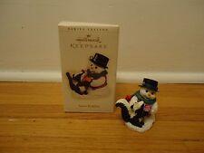 Hallmark Keepsake Ornament Chrismas Snow Buddies 2006 9th Snowman