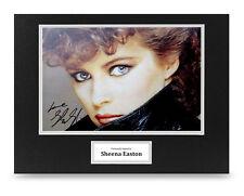 Sheena Easton Signed 16x12 Photo Display Music Autograph Memorabilia + COA