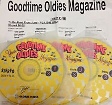 RADIO SHOW: GOOD TIME OLDIES 6/17/96 MONKEES FEATURE; BEATLES, CHAMBERS BROTHERS