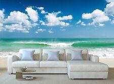 Gentle ocean waves Wallpaper Mural Wall Paper Background Furniture